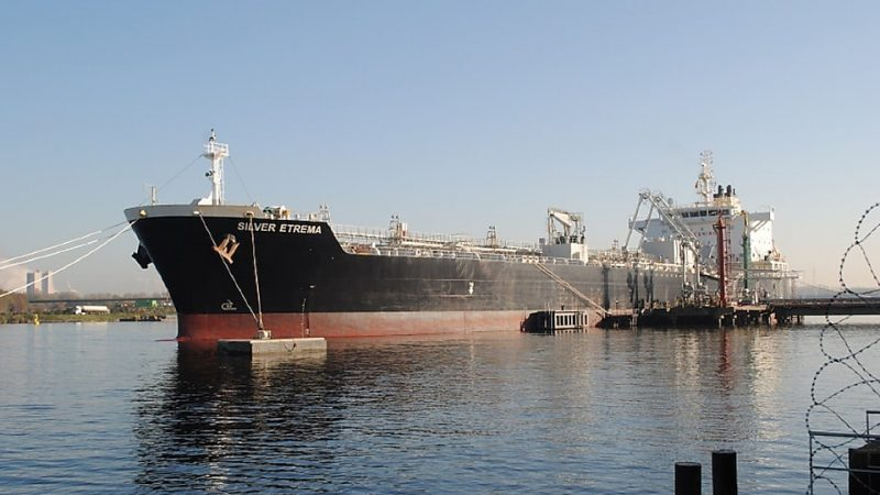 De Silver Etrema van de Shell Shipping-vloot. (Foto Shell)