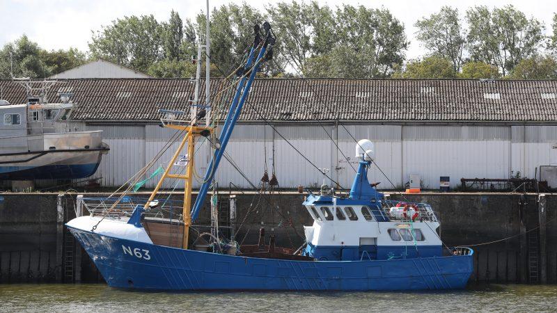 De N-63 langs de Kaai in Nieuwpoort. (Foto Bram Pronk)