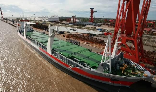 De scheepswerf in het Chinese Yichang. (Foto Damen)