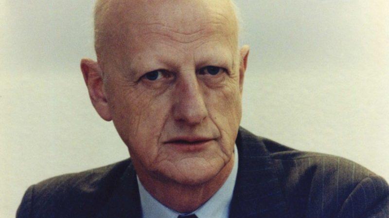 Leen van der Waal als Europarlementariër voor SGP, GPV en RPF. (Archieffoto ANP)