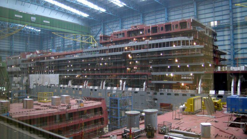 De Meyer Werft in Papenburg. (Foto Wikipedia)