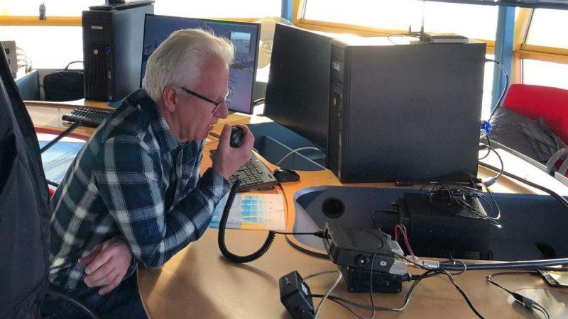 Een eerste test met digitale marifonie in de winter van 2019 aan boord van de RPA-20 van Havendienst Rotterdam verliep volgens Dorsser zeer succesvol. (Foto SMASH!)