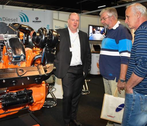 Op beide dagen presenteren Duitse en Nederlandse bedrijven zich aan geïnteresseerde vakbezoeker. (Foto Shipping-Technics-Logistics)