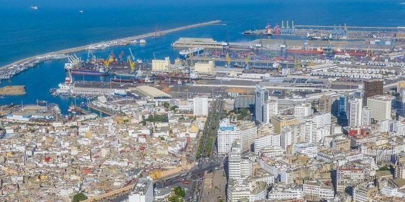 De haven van Casablanca. (Foto Wikipedia)