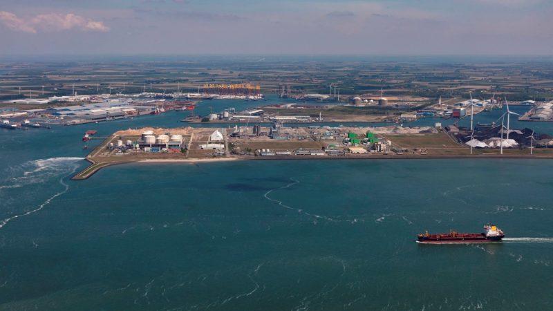 Het havengebied van Vlissingen-Oost. (Foto North Sea Port)