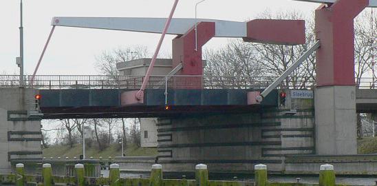 De Sloebrug in Vlissingen. (Foto provincie Zeeland)