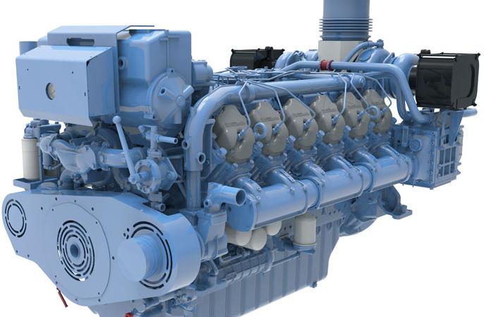 Baudouin heeft een breed gamma. De motoren die Nedpower op voorraad heeft met CCR2  liggen tussen de 331kw en de 736kw.