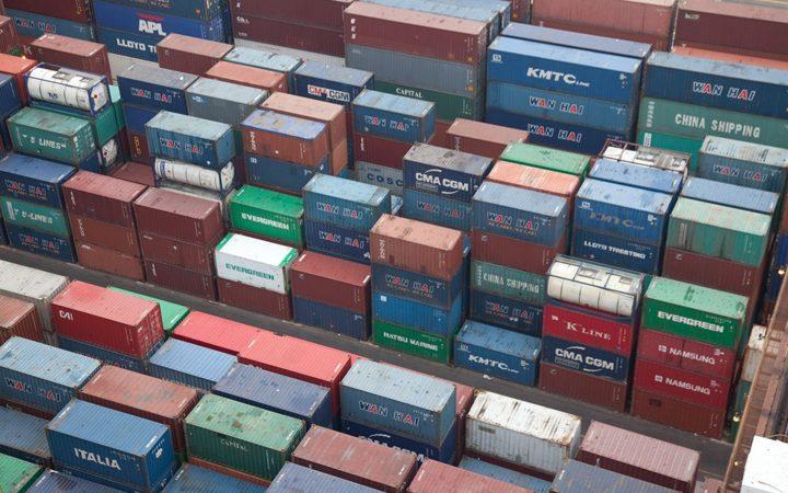 De containeroverslag in Nederlandse zeehavens blijft sterk. (Foto NT)