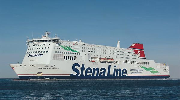 De Stena Britannica van Stena Line Ferries. (Foto Stena Line)