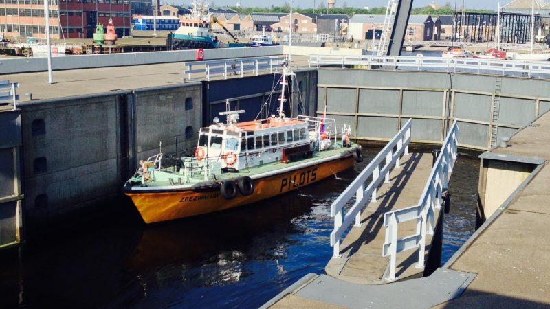 De Zeedoksluis stamt uit 1974. (Foto Port of Den Helder)