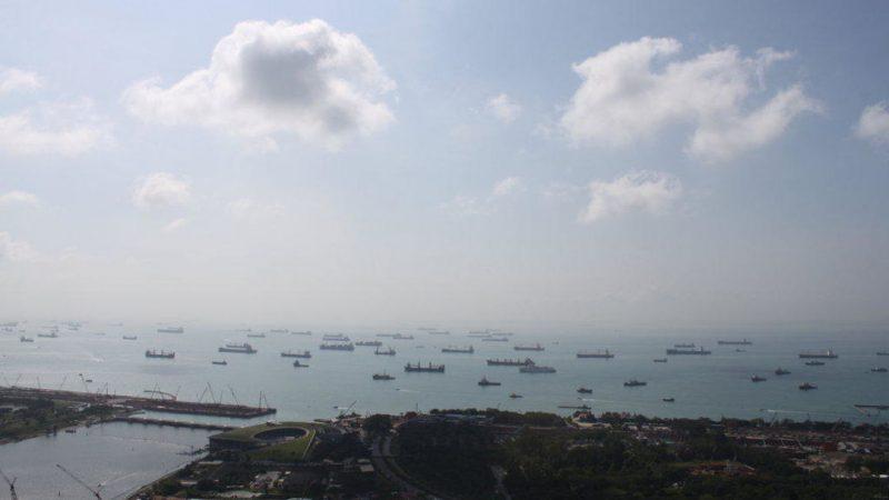 Steeds meer gewapende overvallen in Straat Singapore. (Foto Wikimedia)