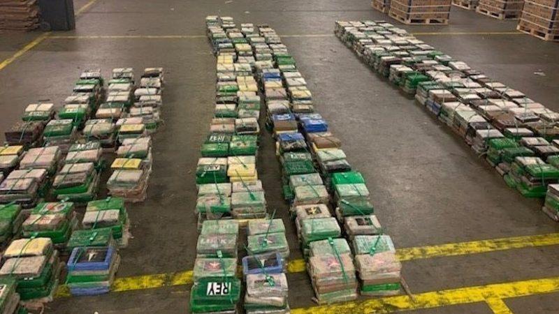 Begin dit jaar werd er 4.500 kilo drugs onderschept. (Foto HVZeeland)