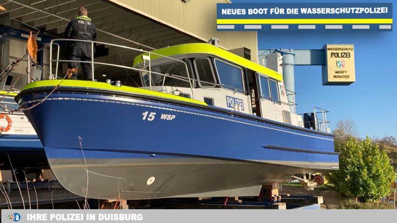 De nieuwe WSP-15. (Foto politie NRW)