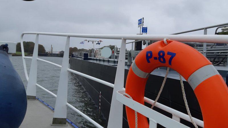 De P87 in actie (voorbeeldfoto). (Foto Politie Landelijke Eenheid Noord-West)