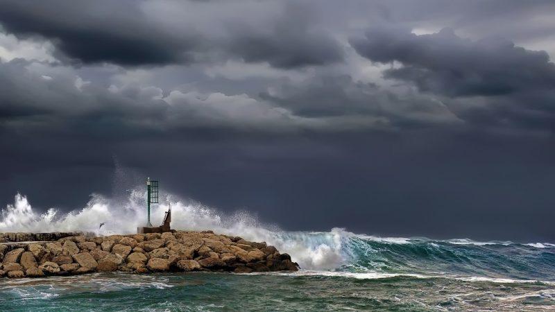 Zware storm teisterde Groot-Britannië afgelopen weekend. (Foto MCA)