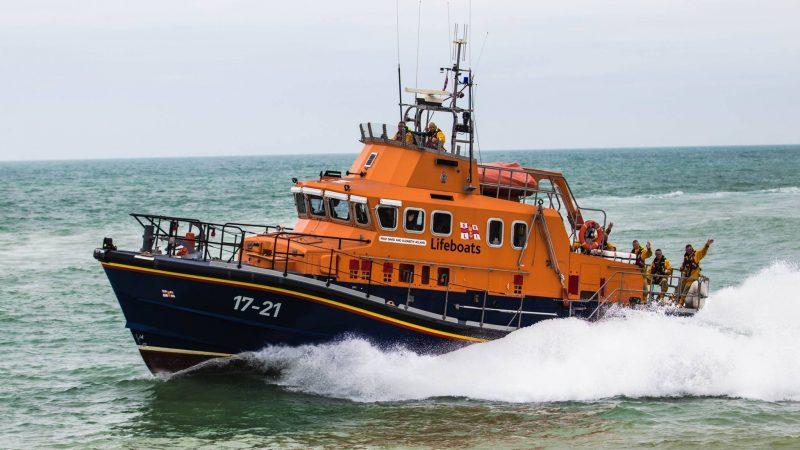 Reddingboot van de RNLI in Newhaven (Foto RNLI)