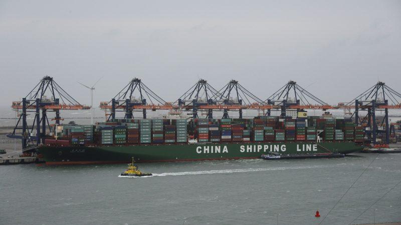De invloed van China reikt ver in de haven van Rotterdam. (Foto Port of Rotterdam)