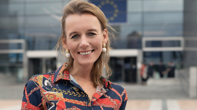 Caroline Nagtegaal: 'We zouden gek zijn als we niet investeren in de binnenvaart'