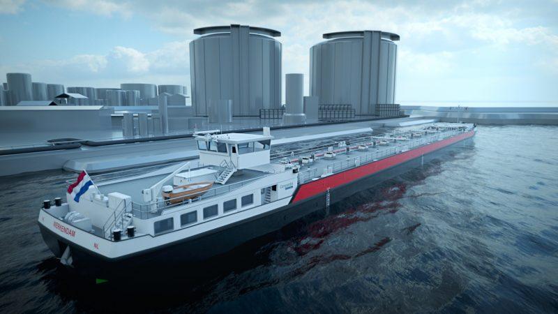 Concordia Damen 40 tankers Shell