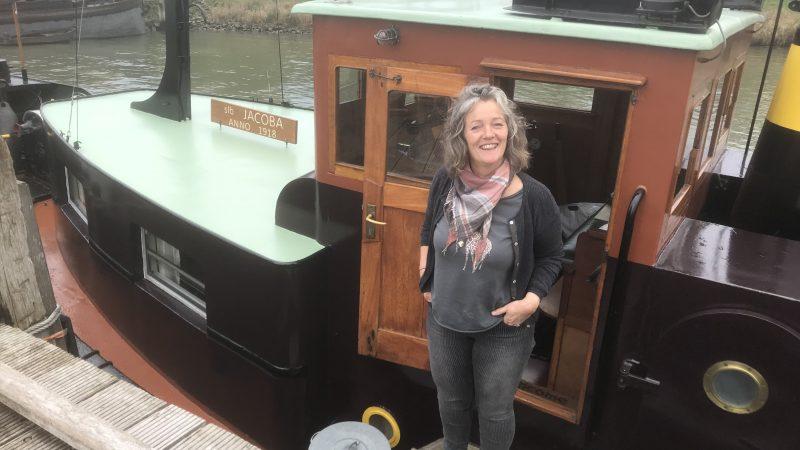 Elise van Bekhoven: 'Ik zou alleen teruggaan naar een huis als het écht niet anders kan.' (Foto Hannie Visser-Kieboom)