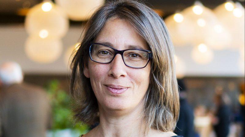 Catrien Scheers is in Antwerpen verkozen tot de Maritieme Vrouw van het jaar 2020. (Foto Fast Lines)