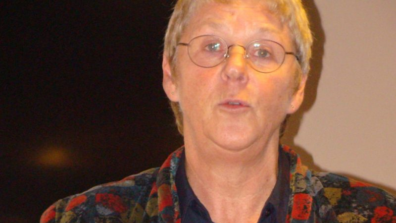 Lilian van Hiele bij het LOVT: … niet altijd positief, maar wel duidelijk… (Archieffoto Sander Klos)