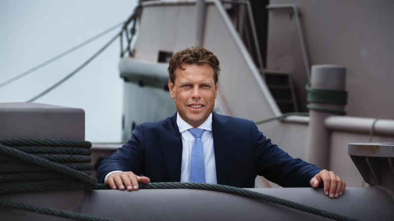 Arnout Damen, ceo van Damen Shipyards Group. (Foto NT)
