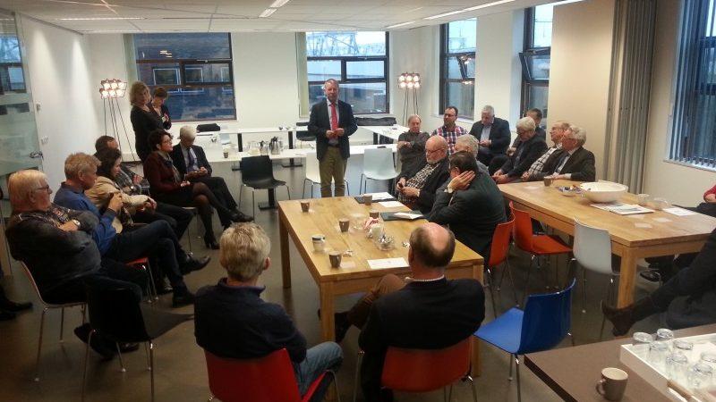 Een afdelingsvergadering van Koninklijke BLN-Schuttevaer in 2015. (Foto Schuttevaer)