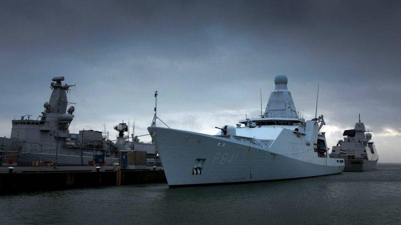 Het patrouilleschip Zr.Ms. Zeeland van de Koninklijke Marine krijgt 11 meter lange Hull Vane. (Foto Hull Vane)