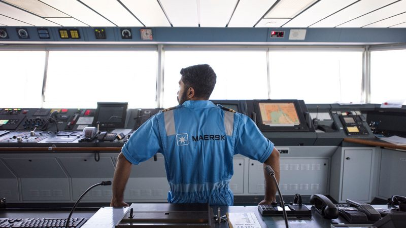Een groep van 24 Nederlandse bemanningsleden dreigen hun baan te verliezen. (Foto Maersk)