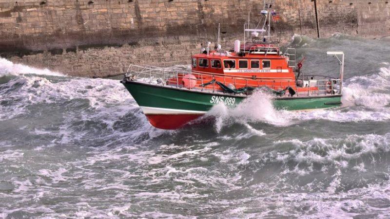 De SNSM-reddingboot Cap Fagnet. (Foto SNSM/Loic Joncqueur)
