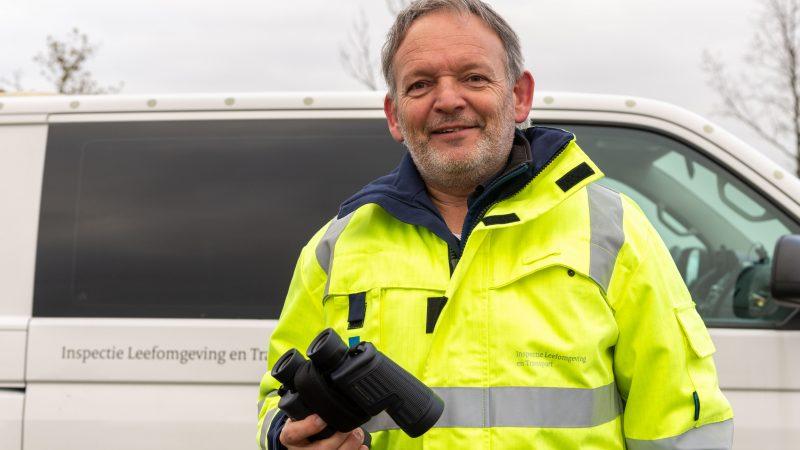 Senior ILT-inspecteur ILT Kees Kievit. (Foto Bart Oosterveld)