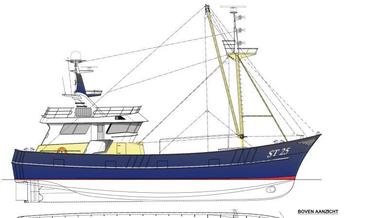 Algemeen plan nieuwe ST-25. (Beeld Heijsman)
