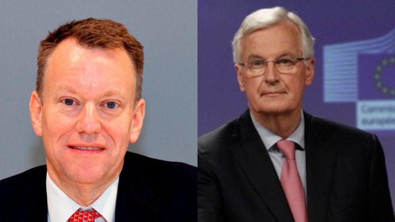 In Brussel onderhandelen Michel Barnier namens de EU en zijn Britse tegenhanger David Frost 'intensief' over een handelsakkoord na 31 december.