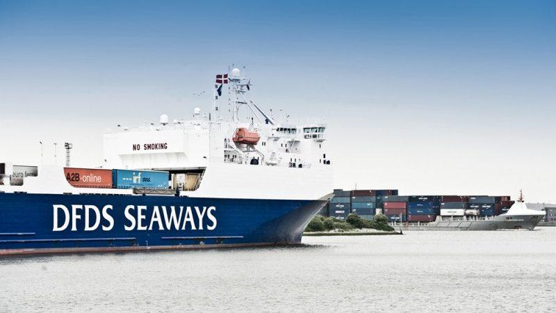 DFDS blijft varen ondanks nieuwe variant corona