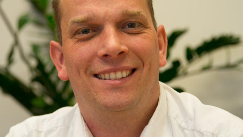 OR-voorzitter Martijn van de Beurcht (43).