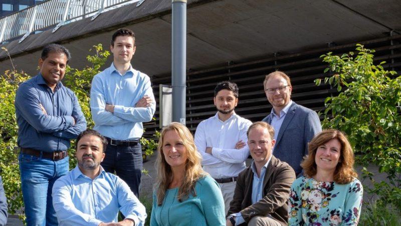 Het team van EICB. (Foto EICB)