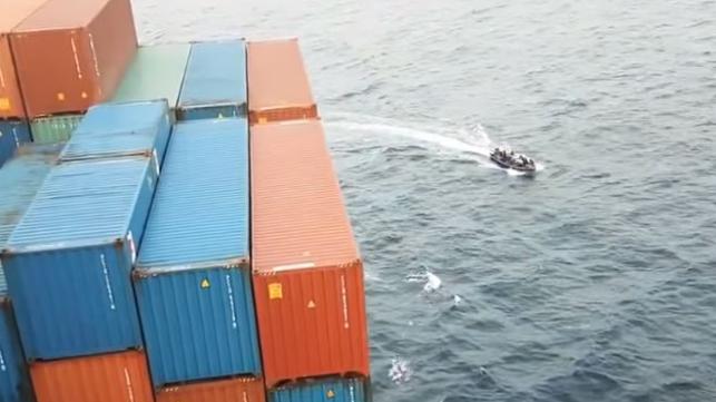 De laatste weken volgen aanvallen op schepen elkaar in hoog tempo op in de Golf van Guinee. (Foto EOS)