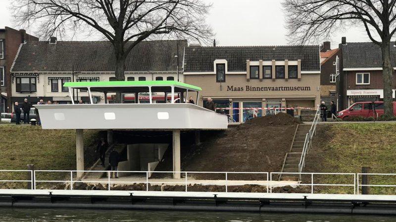 Begin 2021 wordt begonnen met de afwerking van het interieur en de nautische techniek van 'Het Baken van vertrouwen'. (Foto Maas Binnenvaartmuseum)