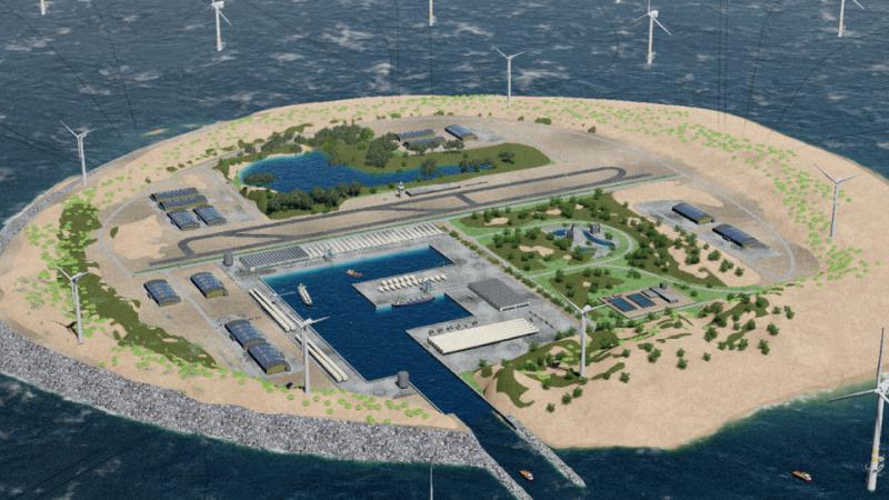 Nederland en Denemarken gaan samen onderzoeken of er een offshore energiehub in de Noordzee kan worden aangelegd.
