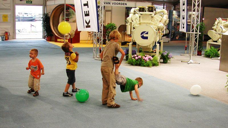 De Open Scheepvaartdagen in Antwerpen staan bekend als de gezelligste en de meest kindvriendelijke vakbeurs. (Archieffoto Justin Gleissner)