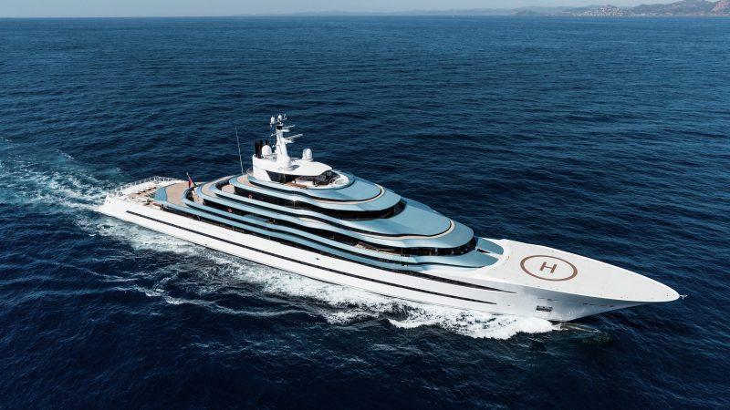 Khalifa bin Hamad Al Thani is volgens Quote en Pointer de koper van superjacht Jubilee dat Oceanco bouwde (Foto Oceanco)