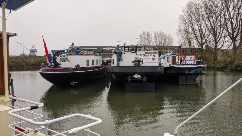 De Marot, de Oosterwijk en de La Bohème.  (Foto Robin van den Bovenkamp)
