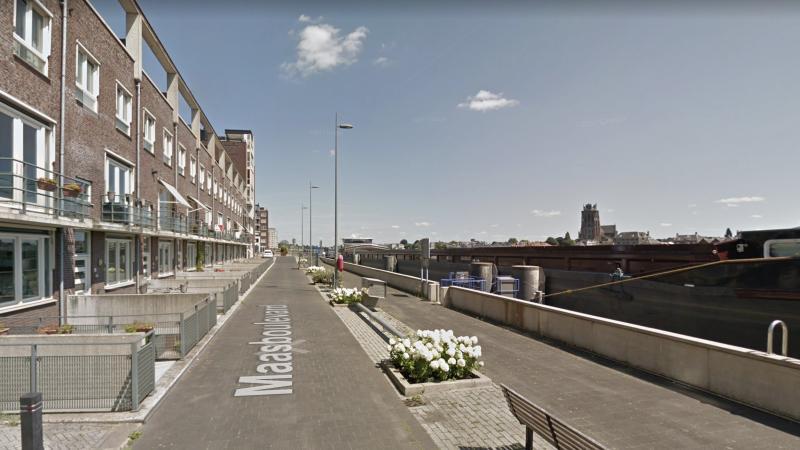 Maasboulevard Zwijndrecht. (Foto Google Maps)