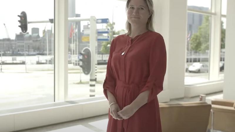 2020 was een rollercoaster voor Annet Koster. (Beeld Havenvereniging Rotterdam)