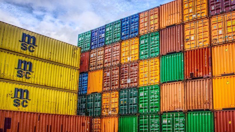 Mogelijk verloor de Maersk Munich 200 containers in Noordzee. (Foto NT)