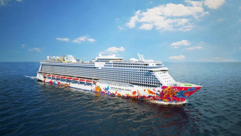 De zogeheten vierdaagse 'Cruise to nowhere' van Royal Caribbean vanuit Singapore is na drie dagen afgebroken. (Foto Royal Caribbean)