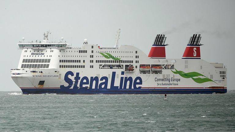 De ferry's van Stena Line blijven naar het Verenigd Koninkrijk varen. (Foto Stena Line)