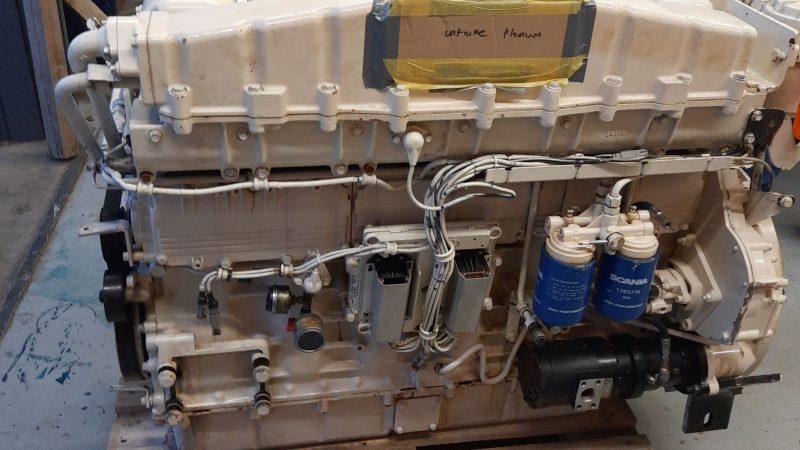 De Skania-generatorset. (Foto Maritieme Academie Harlingen)