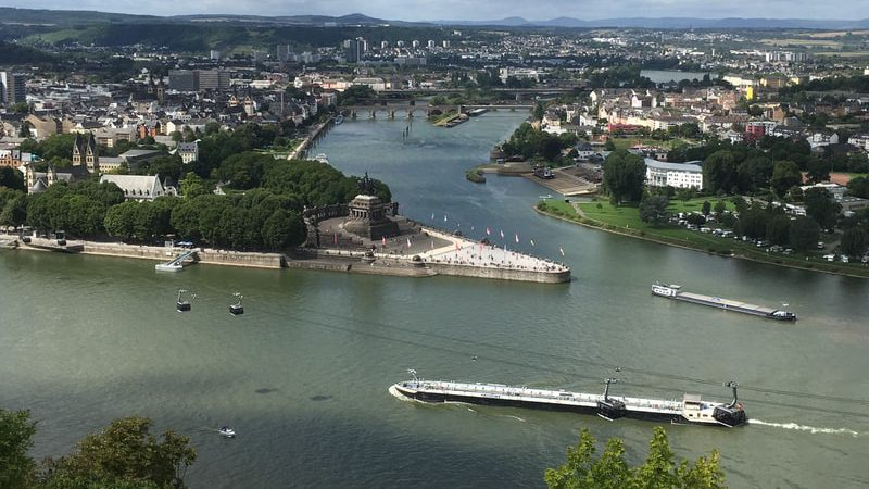 Koblenz. (Foto Unsplash/Pieter van de Sande)